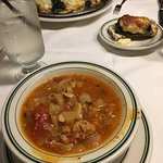 """""""Spectacular Oysters Rockefeller and Coney Island clam chowder... Plates are clean with crisp pr"""
