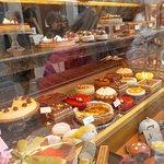 Aire des gâteaux et pâtisseries