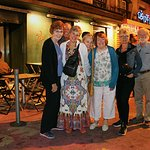 Happy after Fado and Dinner at Povo in Lisbon, Portugal