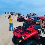 ภาพถ่ายของ White Sand Dunes