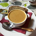 Creamy Vegetable Soup with Brown Soda Bread, mmm mmm good!
