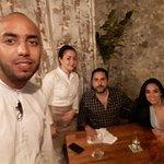 Disfrutando en el mejor restaurante de Cartagena!!