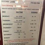 Foto di Ocean Lanes Bowling Center