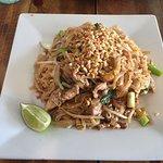 Pad Thai Noodles with pork