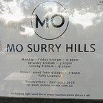 Billede af MO Surry Hills