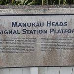 Manukau Heads Lighthouse Foto