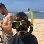 Snorkelling at Sundays