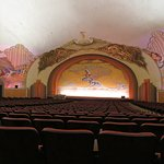 The Nearly 100 Year Old Theater Inside