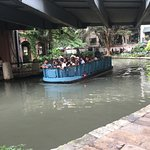 Boat ride around the River Walk
