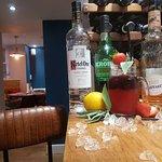 New cocktails followed by Kontosouvli pork on spit