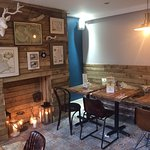 Private dinning area for parties up to 20 people