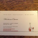 Foto van Winehouse Osteria