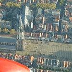 Markt en stadhuis van Delft