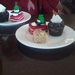 Now the dessert