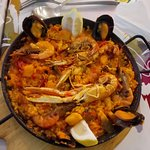 leckere Paella- Pfanne