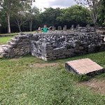 Bild från San Gervasio Mayan Archaeological Site
