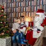 Meet Father Christmas. The Christmas Experience at Cotswold Farm Park