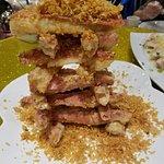 deep-fried crab legs