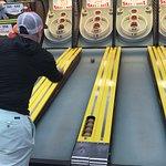 Skiball! $0.25 per game! We had a blast