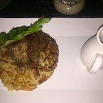 Filet vom Charolait Rind ! Göttlich . dazu ein Rotwein!!! love it