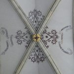 Ceiling decorations and lettering