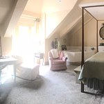 Charming rooms, beautifully decorated in their own unique look and feel.B