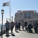 amusement arcade on the pier