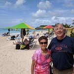 Ocean front lunch spot - Antigua.
