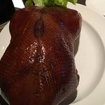 this is their signature dish peking duck. cooked in chinese style