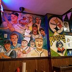 Artwork through out Primanti Brothers.