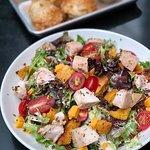 A delicious salad at Blue Smoke.