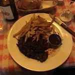 Hanger steak and frites