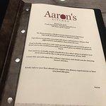 Aaron's Kitchen Foto