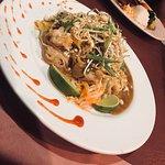 Classic Pad Thai with chicken, shrimp or tofu