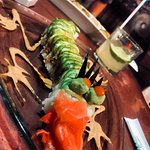 Asia Caribe's famous Dragon Roll