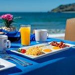 Breakfast outside La Concha ll