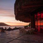 Sunset dinner at La Concha