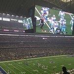 Dallas Cowboy game at A T & T Stadium