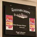 The Mayfair Chippy, Fish and Chips Foto
