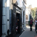 Grave of Eva Peron (Evita). She is buried with the Duarte's