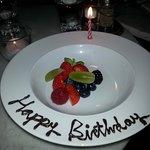 Birthday Boy fruit platter
