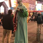 Times Square character