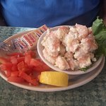 Awesome shrimp salad!