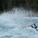 Fotografía tomada por Adele del equipo Ko'Kayak. Río Petrohué