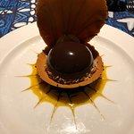 Signature Black Pearl dessert