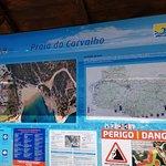 Photo de Praia do Carvalho