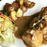 Boneless chicken on set lunch