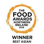 We were voted Best Asian in Northern Ireland!