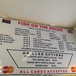 Foto van Fish on the Rocks