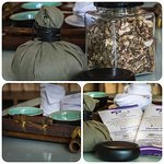 Enjoy our welcome complimentary local herbal tea